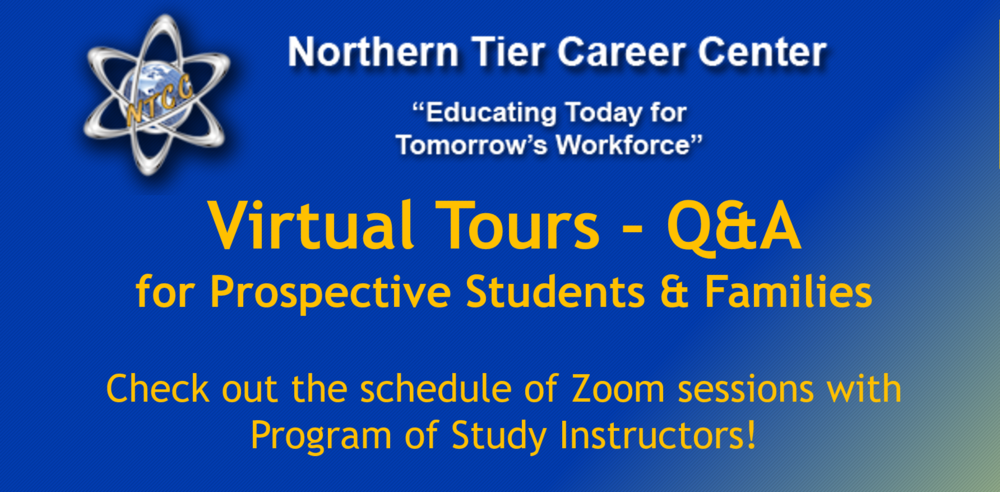 Zoom Sessions for Prospective Students and Families on March 8th, 9th, and 11th